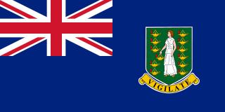 イギリス領バージン諸島(BVI)国旗