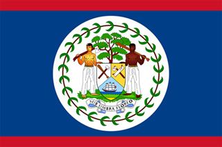 ベリーズ(Belize)国旗